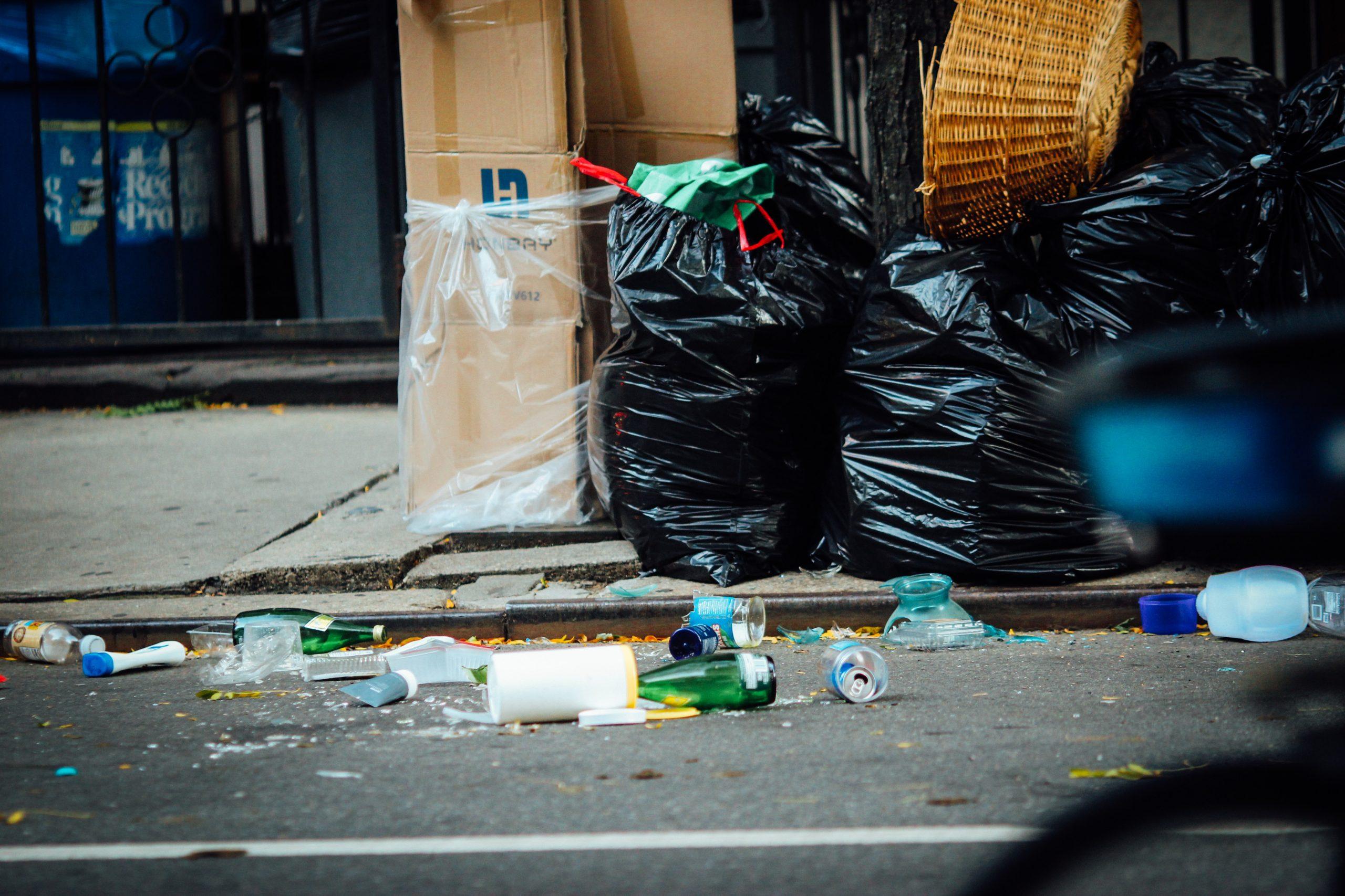 UK litter problem