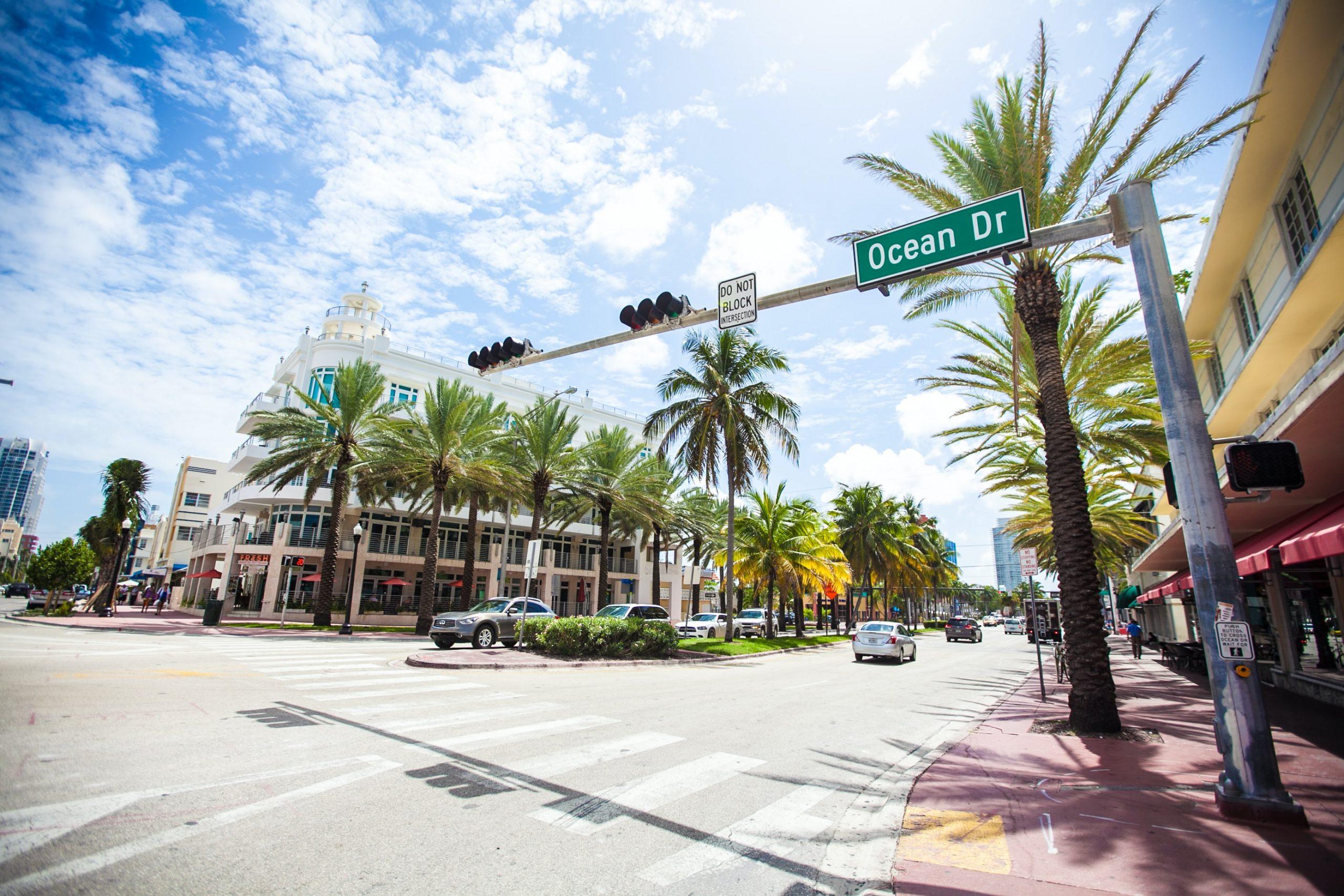 Ocean Drive, FL.