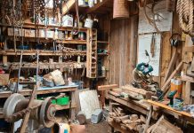 A tradesman's workshop