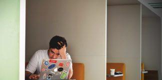 A student on a laptop - Health News Scotland