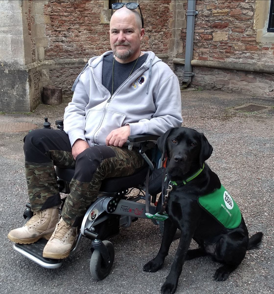 Service dog responds to electronic commands - Health News
