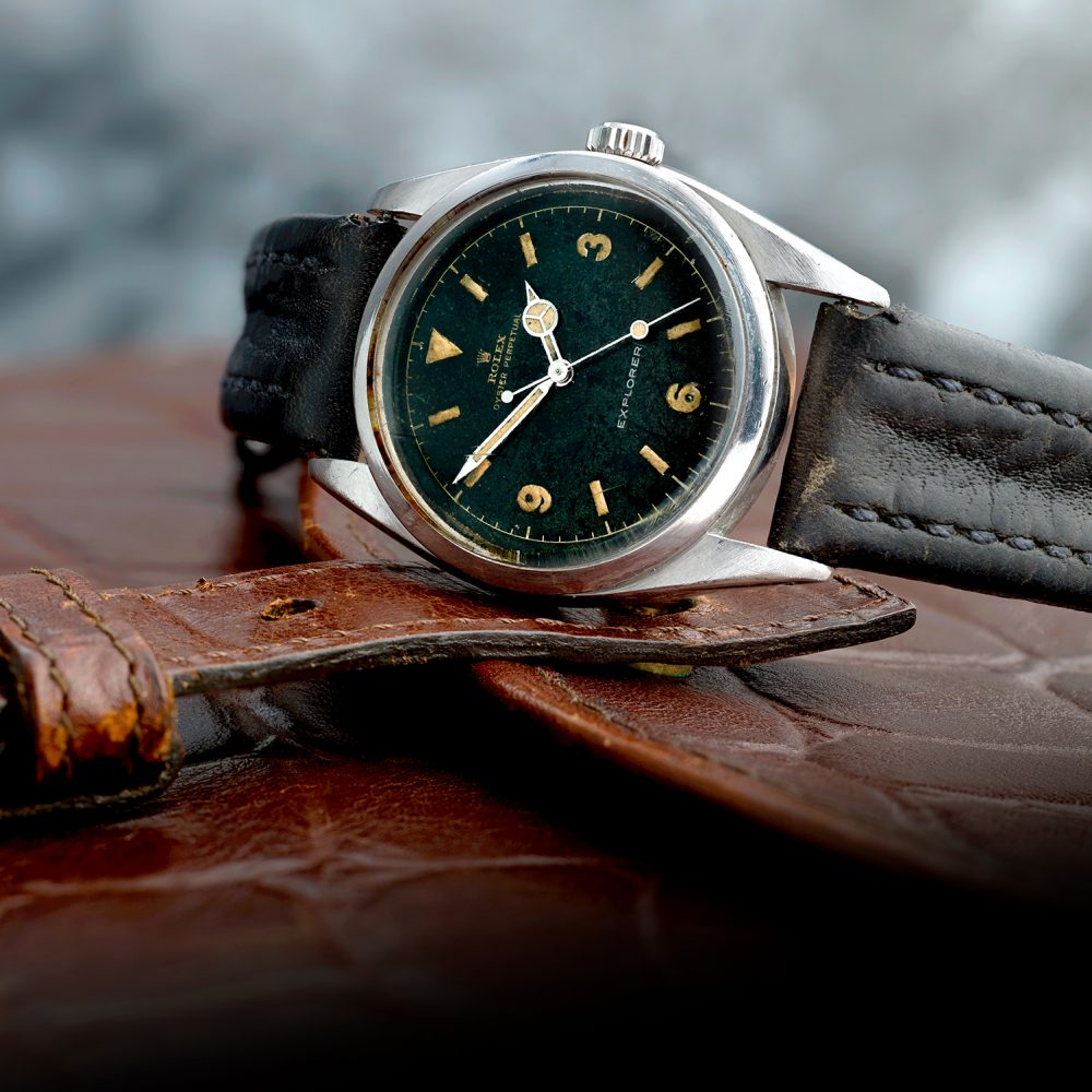 A Rolex Explorer which sold for £34,452 - Business News UK