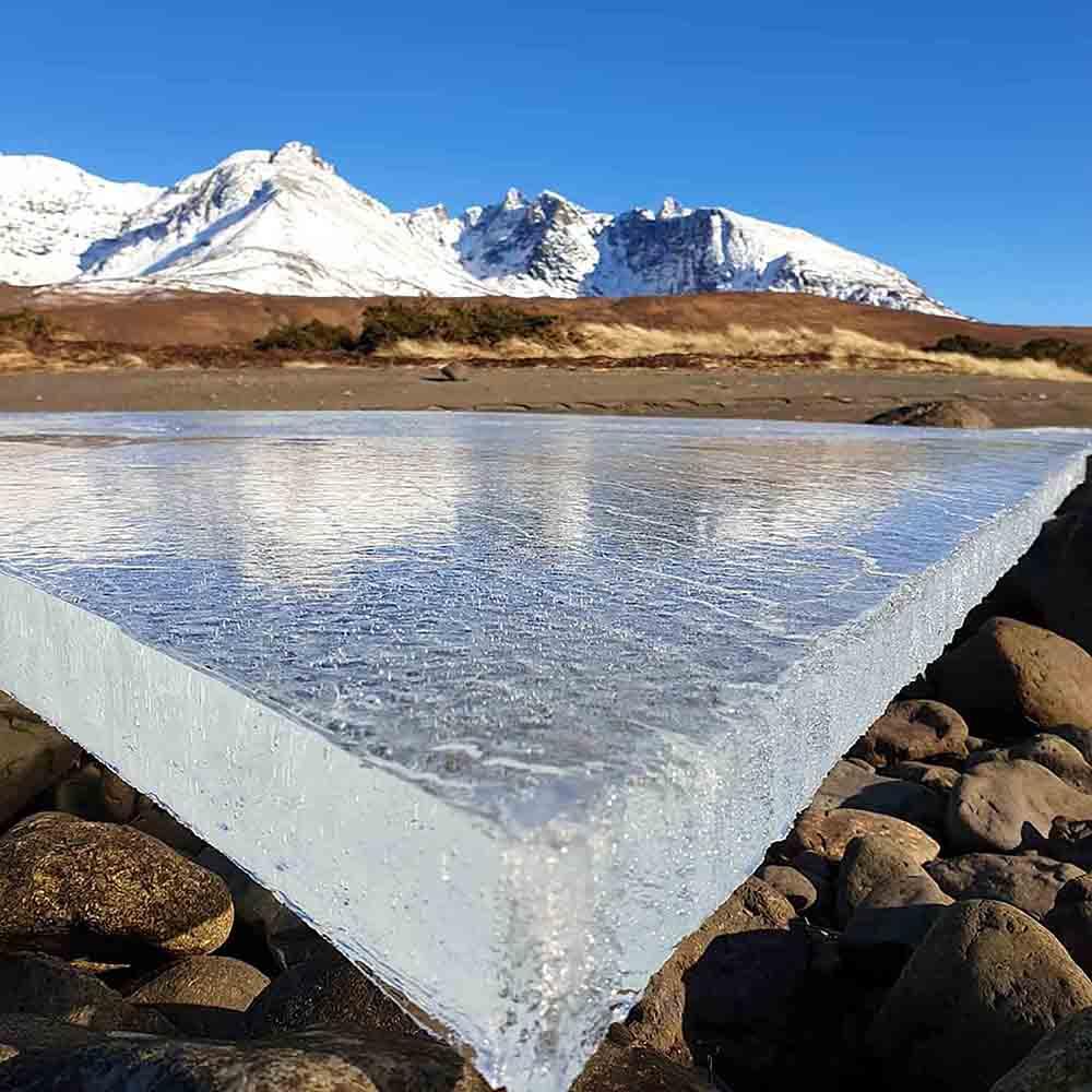 Scots islander captures incredible photo of ice - Scottish News