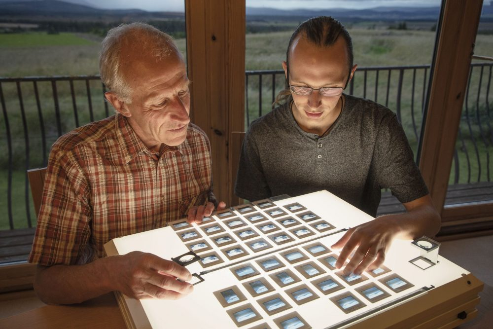 Colin_and_Kieran_Baxter_slides_photo_by_Alice_Watterson - Research News Scotland