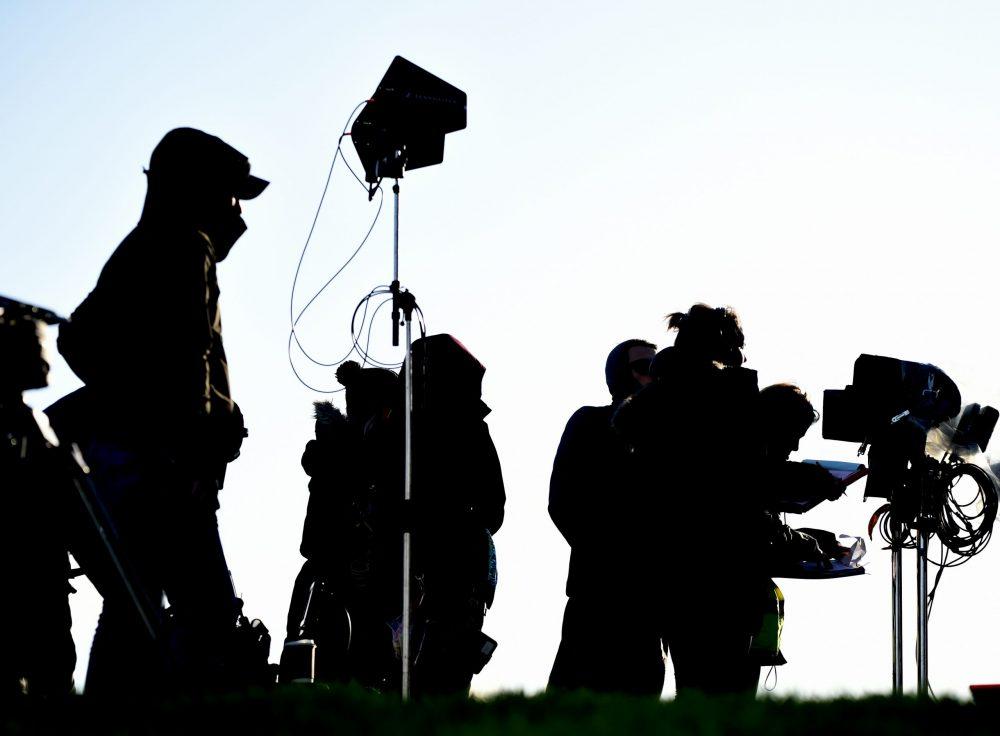 Crew on Bannan set Series 7- Entertainment News Scotland