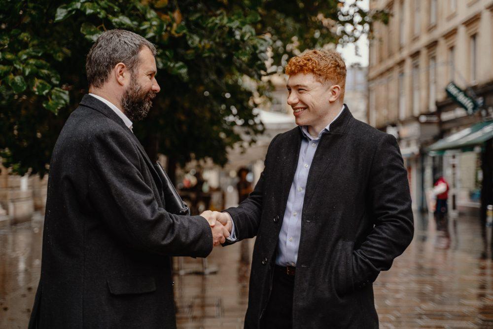 Mr Myles and Mr Thomas - Business News Scotland