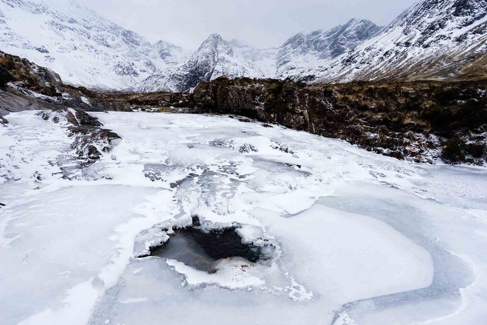 Island photographer captures rare shots of Fairy Pools - Scottish Weather