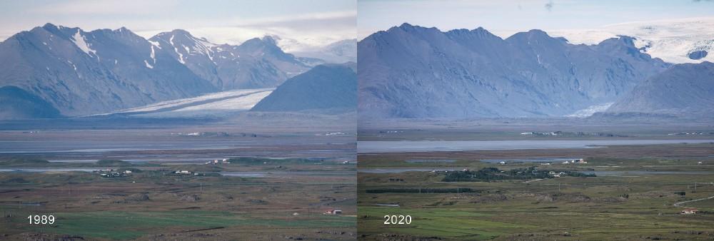 Heinabergsjo?kull climate change - Research News Scotland