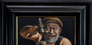 Graham McKean - The Laughing Cooper - Art News Scotland
