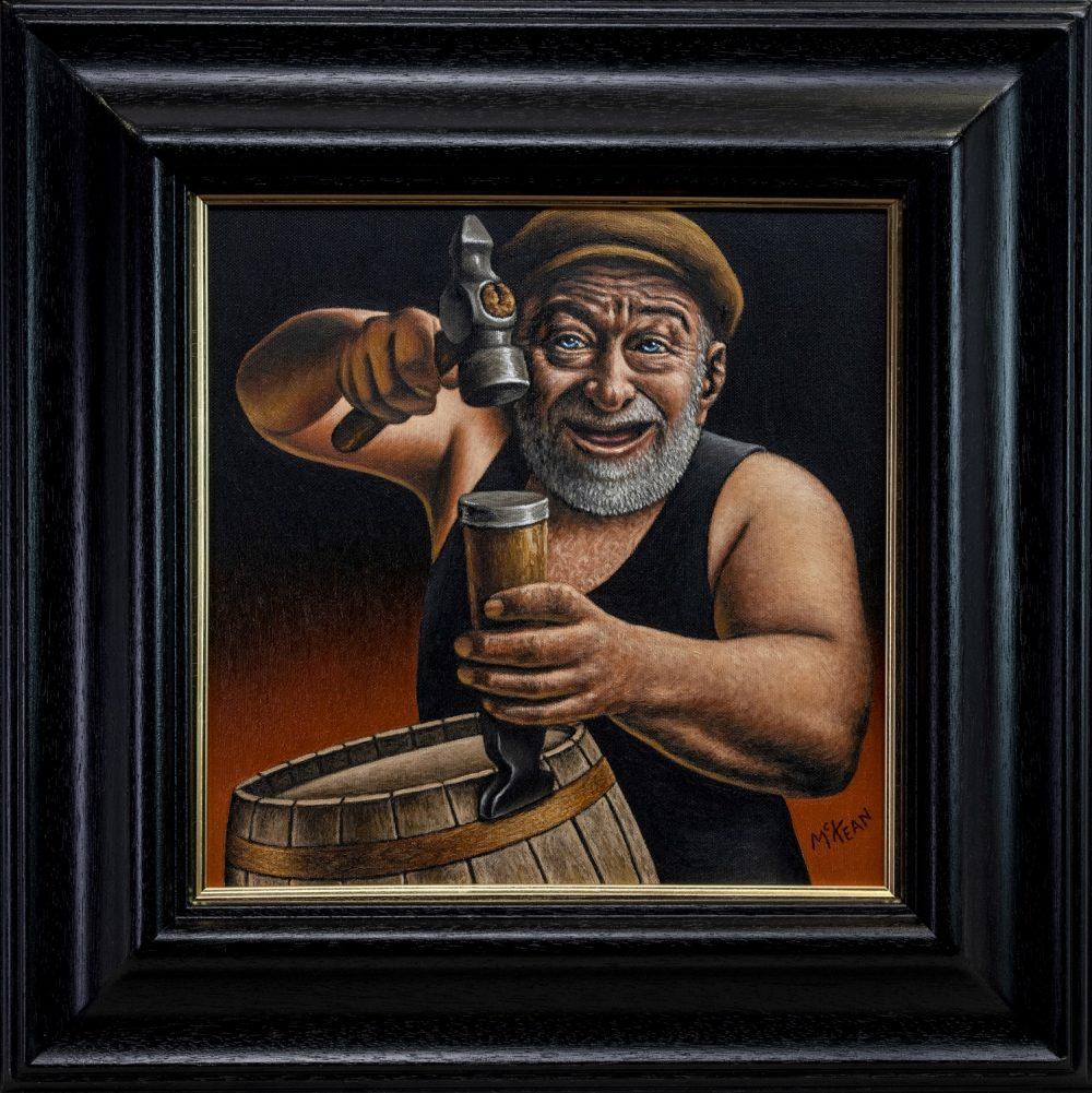 Graham McKean - The Laughing Cooper - Art News Scotland