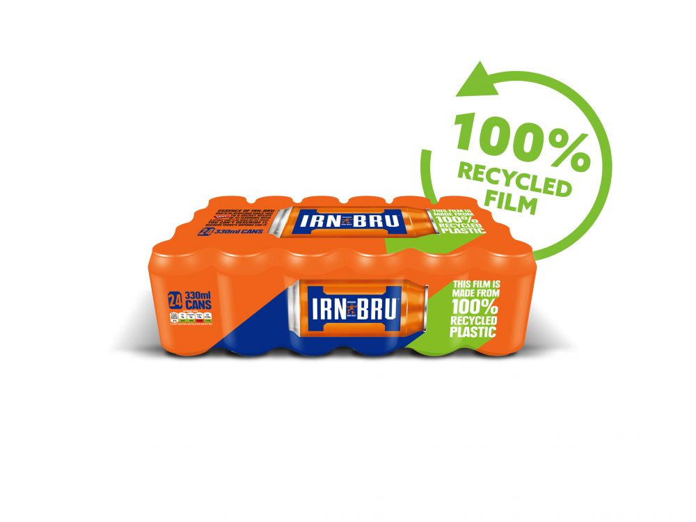 IRN-BRU 100% Recycled film Image - Food and Drink News Scotland