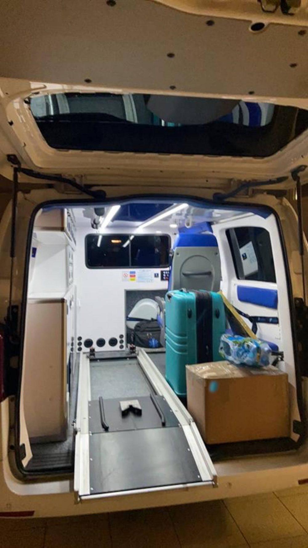 Karolina's private ambulance - Health News Scotland
