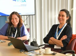 L-R Mary Fraser and Teresa Garzon of WiSA - Business News Scotland