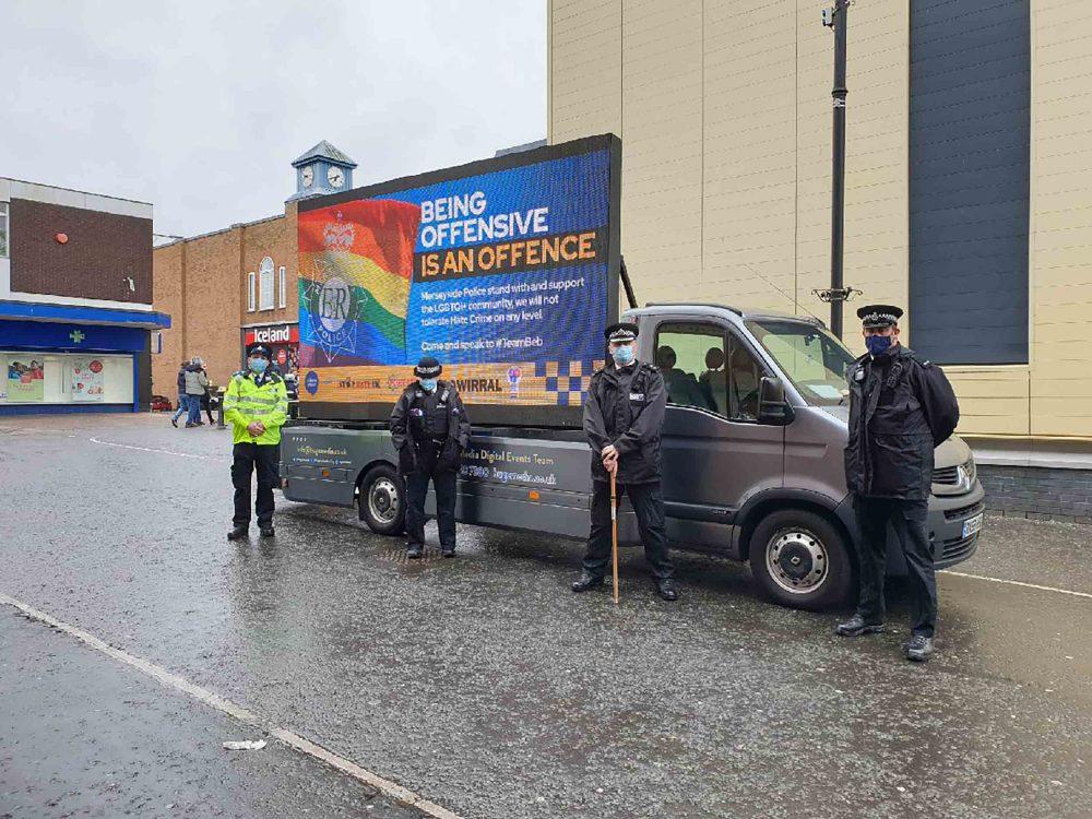 Merseyside Police's controversial advan | Crime News UK