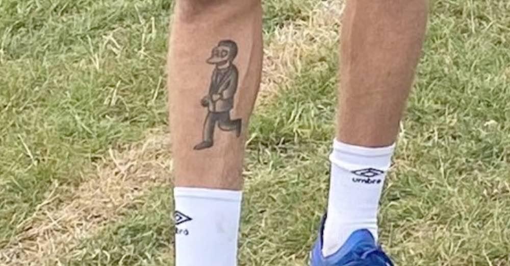 Jackson Irvine shows off his Simpsons tattoo | Hibs news