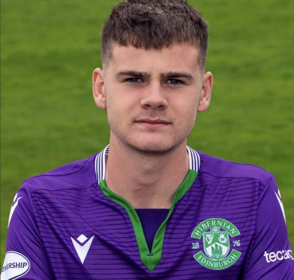 Hibs youngster Murray Johnson | Hibs news