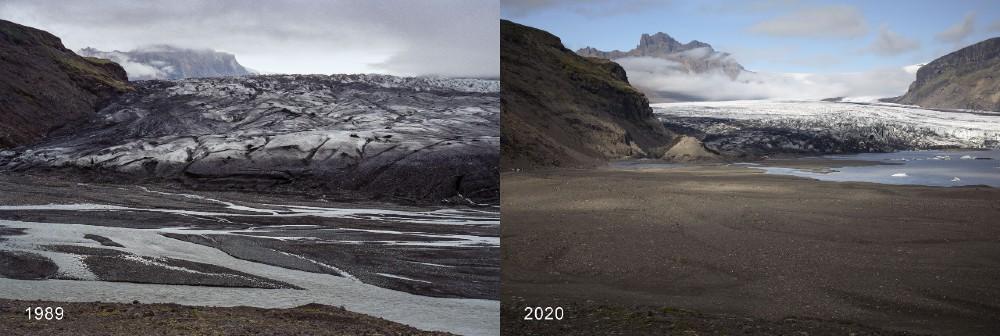 Skaftafellsjokull by (Colin Baxter/Kieran Baxter, University of Dundee - Research News Scotland