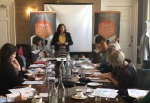 Rickie Tank at Programme for Growth NB pre-covid - Business News Scotland