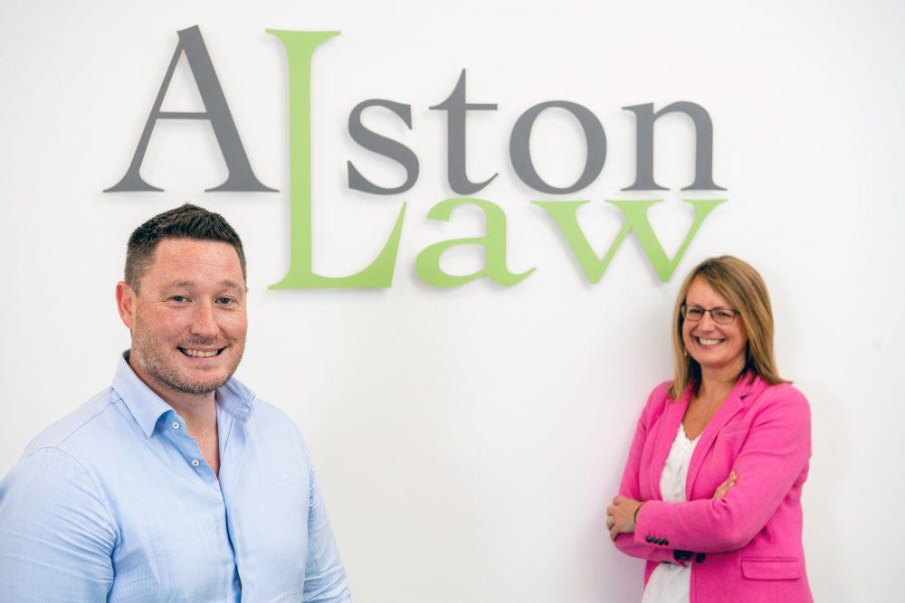 Rob Aberdein and Denise Loney - Business News Scotland