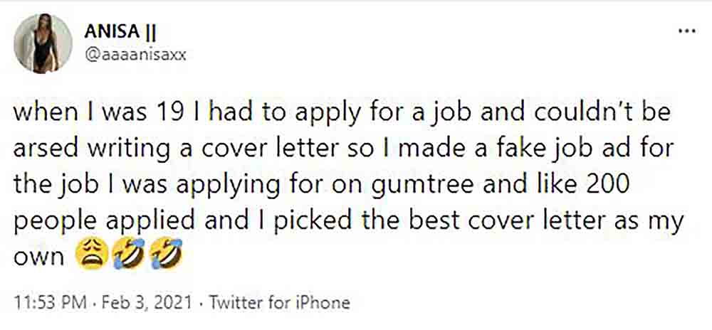 Scots woman branded genius after showing clever cover letter trick - Scottish News