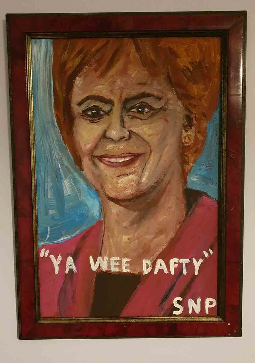 AN EBAY seller has been ridiculed on Twitter after attempting to sell a portrait of Nicole Sturgeon - Scottish News