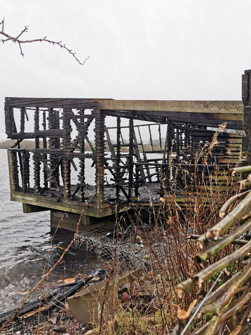 The hide after the fire NatureScot - Court and Crime News Scotland