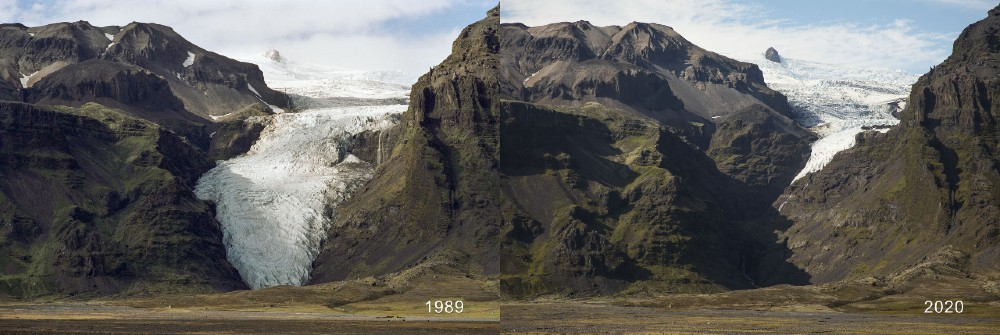 Snow and ice disappearing in Ho?larjo?kull - Research News Scotland
