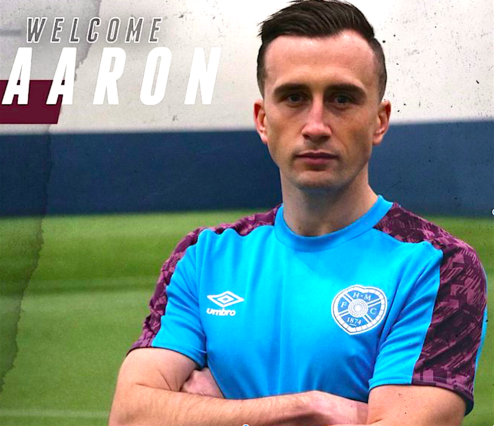 Aaron McEneff signs for Hearts | Hearts news