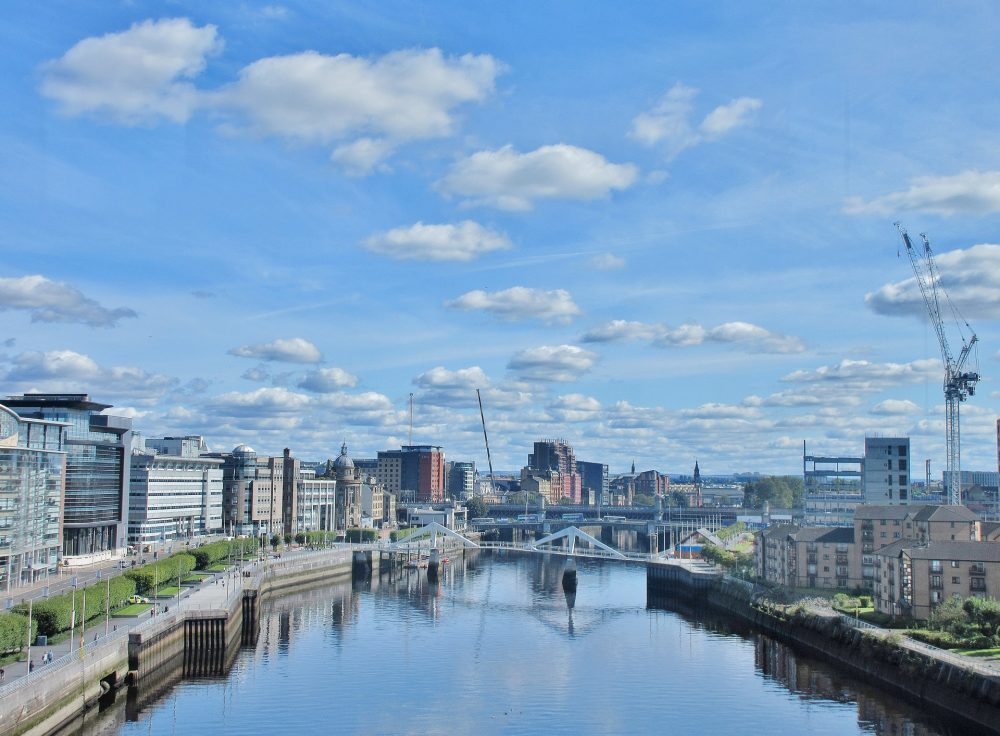 A picture of the Clyde in Glasgow - Business News Scotland