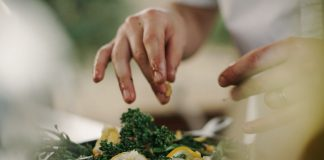 A picture of a person cooking - Food and Drink News Scotland