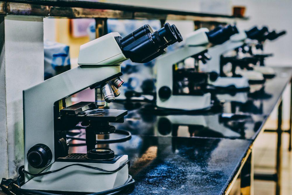 A picture of a scientific microscope - Research News Scotland
