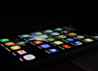 A picture of an iphone Screen - Coronavirus News Scotland