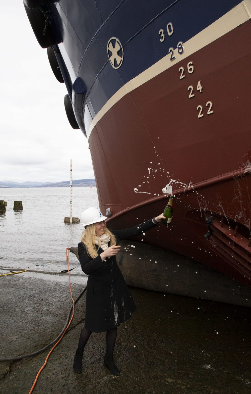 First 'airbag' launch on the Clyde - Business News Scotland