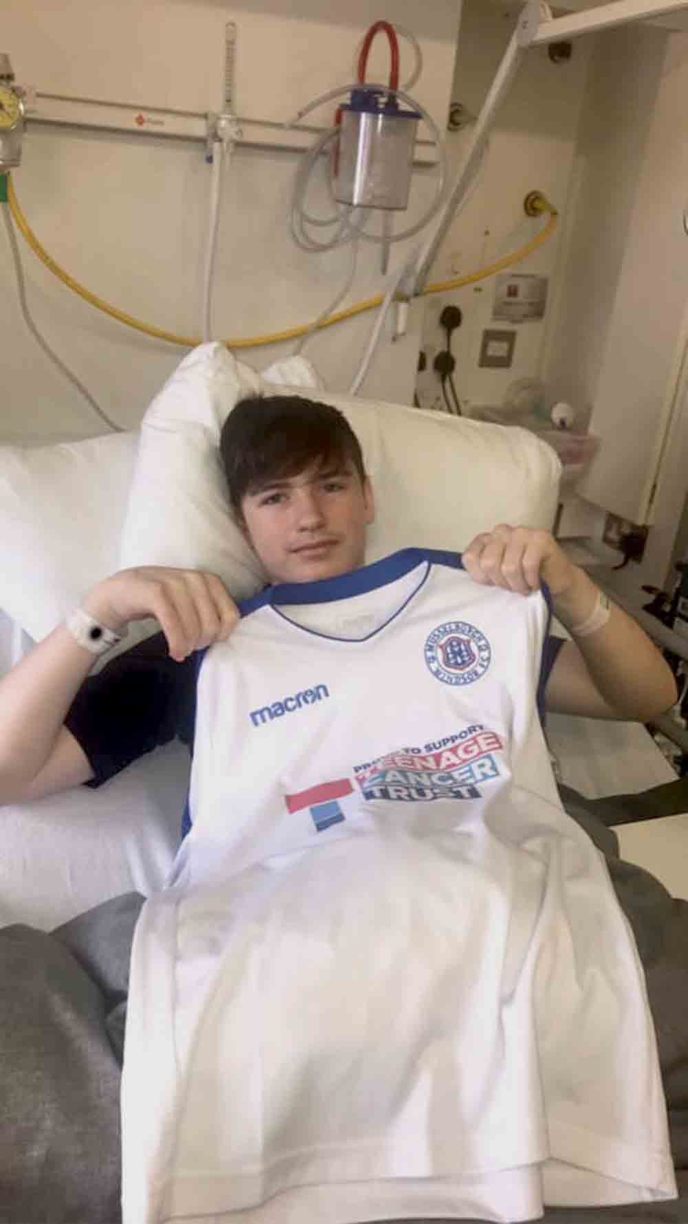 Scots teen starts fundraiser after finding he might never walk again - Scottish News
