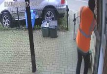 Shocking moment amazon driver lets himself into property - Consumer News UK