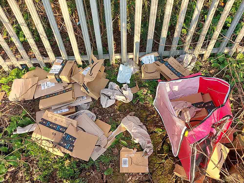 Amazon investigate after parcels dumped on side of motorway - Consumer News UK
