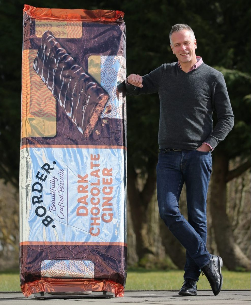 Border Biscuits Sales Director Mark Chance. - Food and Drink News Scotland