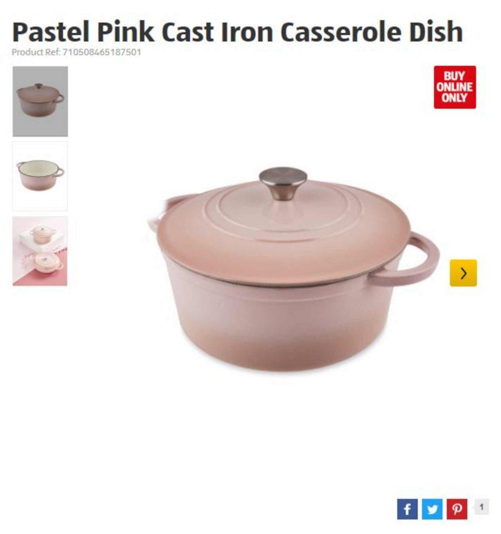 Aldi's cast iron casserole dish | Retail News UK