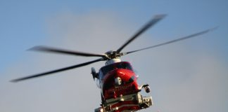 A picture of a HM Coastguard helicopter - UK and World News