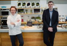 Compass Scotland ambassador Tom Kitchin with MD David Hay credit @Schnappsphoto - Business News Scotland