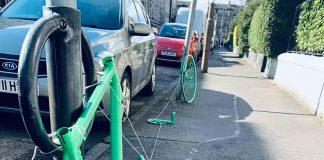 Bike theft art display | Scottish News