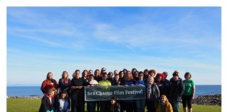 Group shot of people from Sea Change Festival - Entertainment News Scotland
