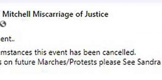 Protest for Luke Mitchell event cancelled - Scottish News