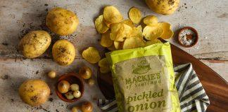 Mackies Pickled Onion Crisps - Food and Drink News Scotland