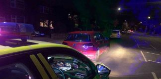 """Uninsured driver """"looking for the moon"""" 