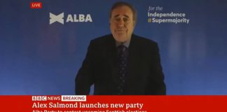 Salmond coughs his eyebrows up | Scottish News