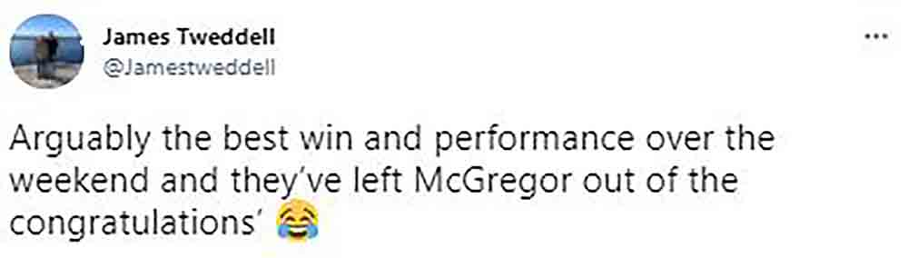 Scots champion boxer Lee McGregor hits back at social media snub - Scottish News