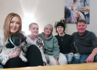 Lily-Mae Grogan and her family | Scottish News