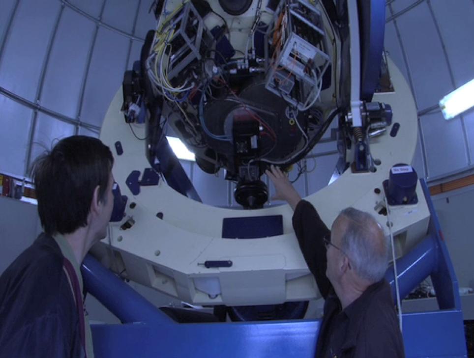 Telescope network - Dominik - Research News Scotland