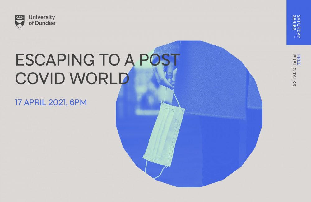 The online event 'Escaping to a post-Covid world',- Coronavirus News Scotland
